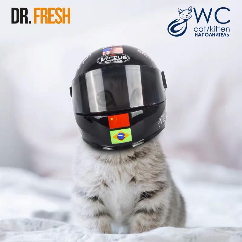 Шлем мотоциклетный для кошек