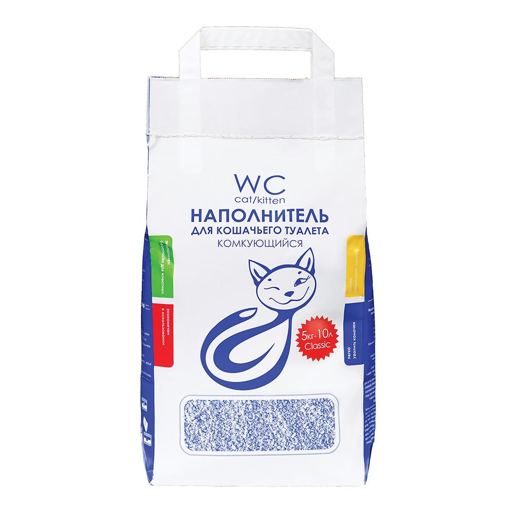 Наполнитель кошачьих туалетов «WC Cat/Kitten» 5 кг