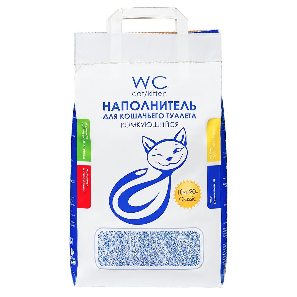 Наполнитель кошачьих туалетов «WC Cat/Kitten» 10 кг