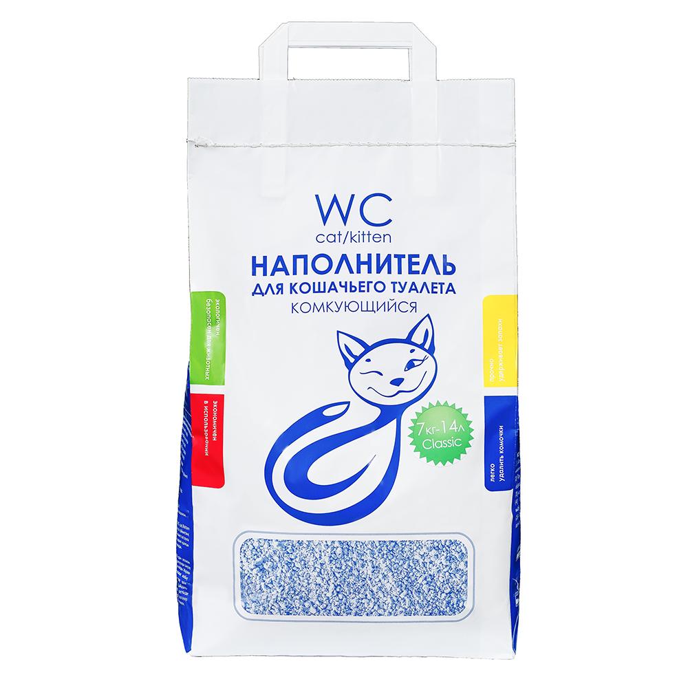 Наполнитель кошачьих туалетов «WC Cat/Kitten» 7 кг